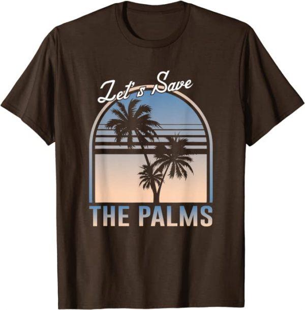 Palmöl, nein danke - lass uns die Palmen retten Umweltschutz T-Shirt