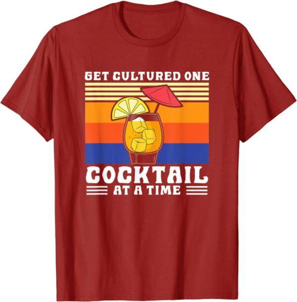Bleib vernünftig, nur ein Cocktail auf einmal, Sommer, Party T-Shirt