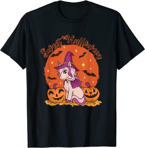 Halloween süßes Einhorn Kinder Kostüm Halloween T-Shirt